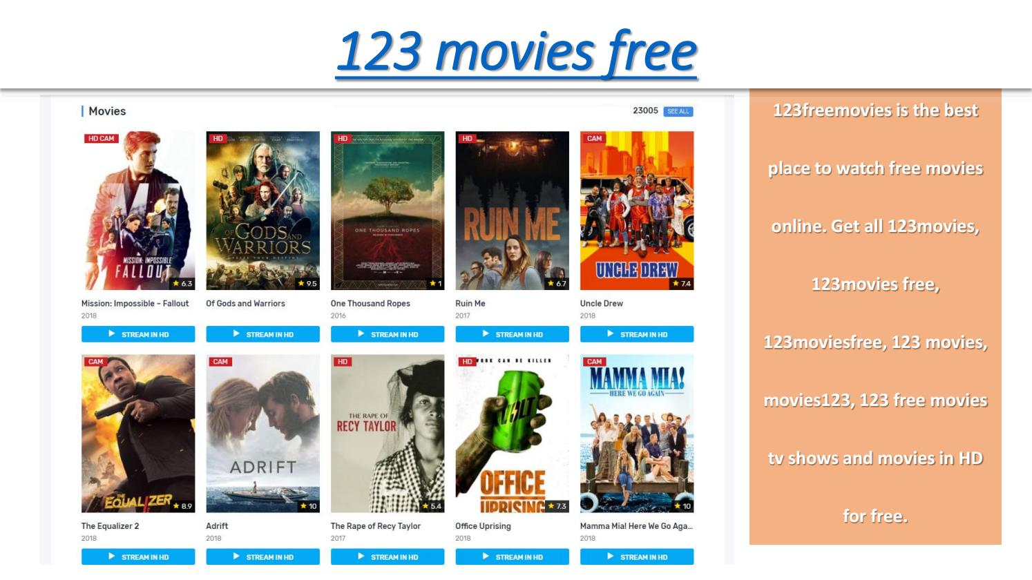 123Moviesfree