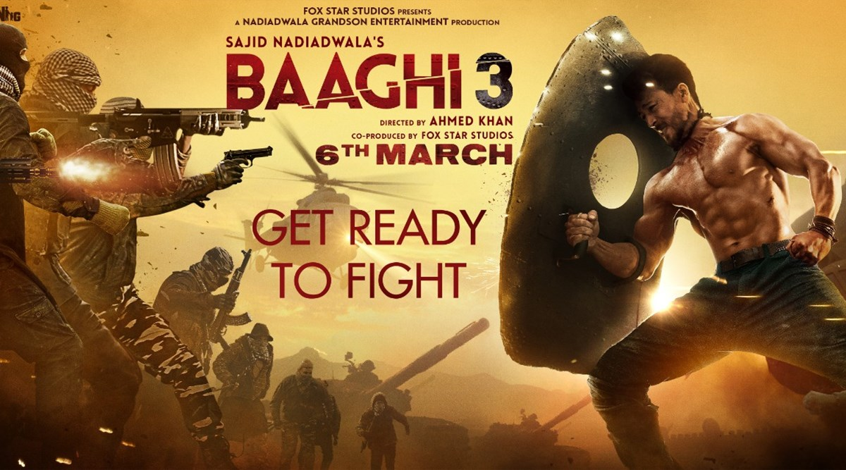Baaghi 3 movies