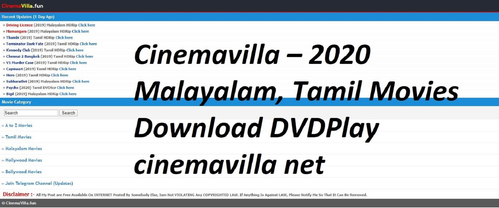 Cinemavilla2020