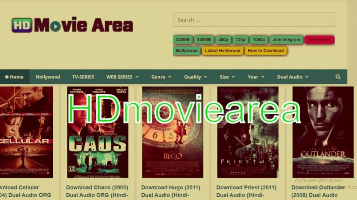 HD movie area 2020