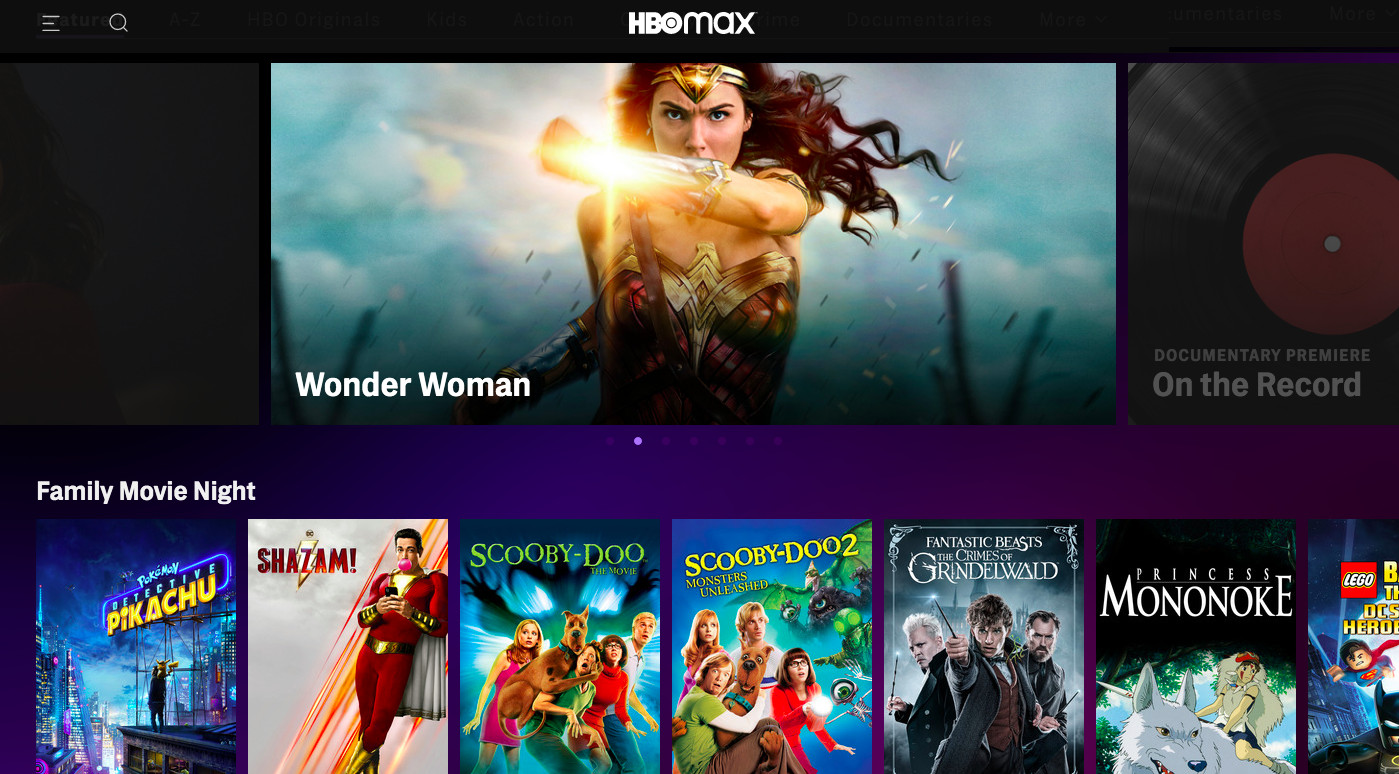hbo max new movies